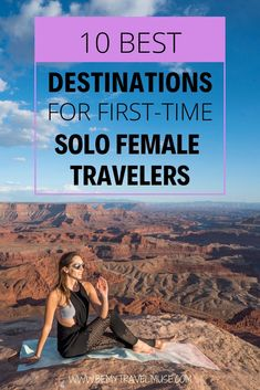 Here are the best places to travel alone in, especially if you are a first-time solo female traveler! If you are planning your very first solo trip abroad, check out these destinations that are safe and easy to travel in, with friendly locals and tons of Traveling Alone Women, Travel Alone, Traveling Solo Woman, Top Travel Destinations, Amazing Destinations, Vacation Alone, Italy Vacation, Safest Places To Travel, Travel Things