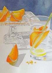 Refresher Painted in watercolours by Sharon Douglas www.sharondouglas.weebly.com
