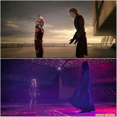 The feels!#SkyguyandSnips #SWTCW #StarWarsRebels #Ahsoka #AshleyEckstein @heruniverse #Anakin #Vader #MattLanter  #AhsokaLeaves #AhsokaLives