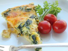 I have been working on perfecting the perfect crustless quiche recipe for years. I always use spinach, but I bought some Rainbow Swiss Chard at the local farmers market today, and I thought Id give it a try in quiche. I used Rainbow Chard (pink/yellow/white/orange stems- BEAUTIFUL), but you can use any chard (or try substituting other greens) I do notice that fresh greens give a much better taste than frozen greens though!