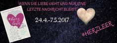 """""""#Herzleer"""" ist eine Anthologie mit acht Kurzgeschichten namhafter deutscher Autoren, die große Gefühle in mir hervorriefen. Storys über den Abschied auf verschiedenen Ebenen, doch immer mit Trauer und Leere verbunden. ~ gefühlvoll ~ authentisch ~ nachhaltig ~ bewegendes Buch für Zwischendurch ~"""
