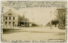 Biggs, Butte County, California, 1908.