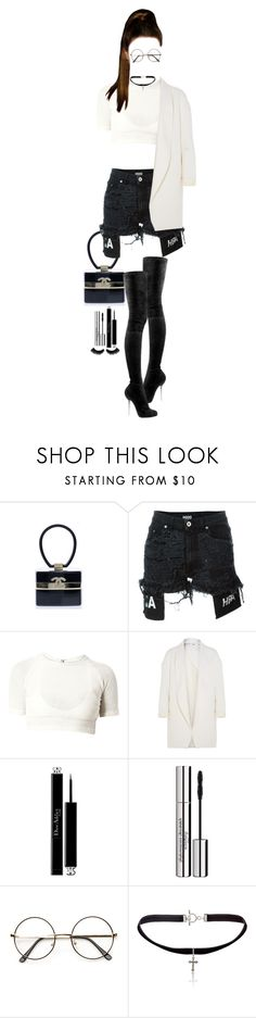 """""""Watching Serena Williams at the U.S. Open"""" by luxury-kamar ❤ liked on Polyvore featuring Chanel, Hood by Air, Christian Louboutin, Rosetta Getty, Christian Dior, Sisley and Yves Saint Laurent"""