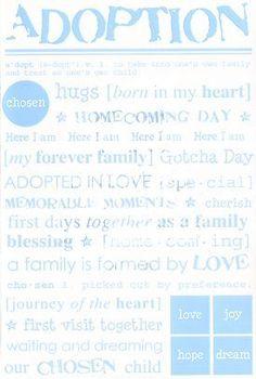 Adopt a foster child