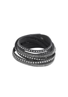 This wrap-around, sparkly bracelet adds a stylish edge to any look whether it be casual or chic. Made from faux suede with gold or silver studs.Adjustable with 3 press studs. Buy Crystals, Christmas 2016, Stylish, Chic, Bracelets, Studs, Silver, Gold