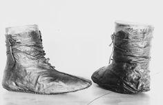 Shoes from Oseberg. Museum : Kulturhistorisk museum, UiO.  MuseumNo : O1904_304,  InventoryNo : CfO0426.