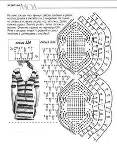 Crochet Dress + Diagram