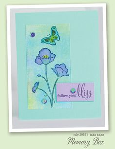 Blooming Poppies, Sketchbook Imagine  - and a  New Look Bookby the Memory Box Design Team