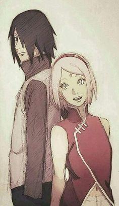 Sasuke and Sakura Uchiha Beautiful Wallpaper ❤️❤️❤️