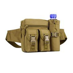 c7ff79e40e0 Buy X-Freedom Military Waist Pack Tactical Waist Bag Fanny Pack Army Waist  Pouch Bag With Water Bottle Pocket Holder Hip Belt Bag Outdoor Hiking  Travel ...