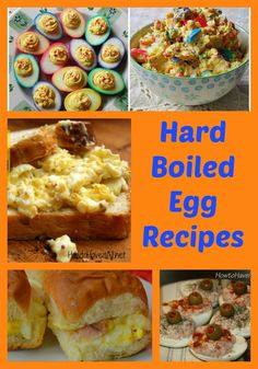 Collection of Hard Boiled Egg Recipes | http://just2sisters.com/hard-boiled-egg-recipes/