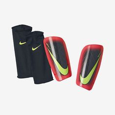 NIKE CR7 MERCURIAL LITE SHINGUARD FOOTBALL SOCCER 2014 Black/Hyper Punch/Volt