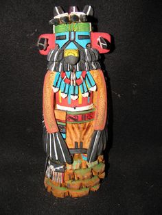 Native American Indian Hopi Eagle Kachina Doll by Carver Anthony Mahkewa | eBay