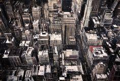 Manhattan #Urban landscape #altered perspective #birds eye view