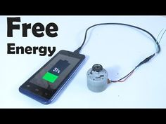 Free Energy Charger for Mobile Phone? - YouTube