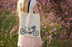 GroopDealz   Canvas Tote Bags : 3 Different Designs