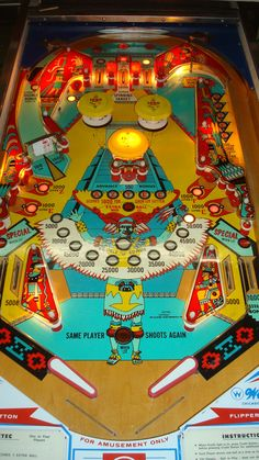 Pinball machines for sale, pinball game restoration and pinball service and more. Flipper Pinball, Pinball Wizard, Penny Arcade, Arcade Machine, Arcade Games, Pinball Games, Machine Design, Vintage Games, Table Games