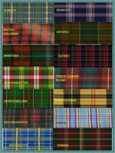 Canadian National and Provincial Tartans updated ( 35 pc puzzle ) Canadian Things, I Am Canadian, Canadian History, Canadian National Anthem, Canadian Quilts, Quilts Canada, Canada 150, Canada Funny, Meanwhile In Canada