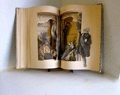 Altered Book Autopsy: A Christmas Carol,1904 Altered Book