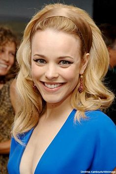 Rachel McAdams - she is one of my all time favorite celebrities ever. She's absolutely gorgeous and I love her acting! =)