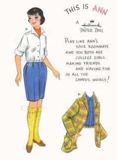 Ann (Hallmark paper doll)