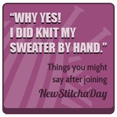 Learn a new stitch a day: http://newstitchaday.com/vip/?u=1=17433