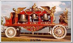 Ringling Bell Wagon - love these historic wagons