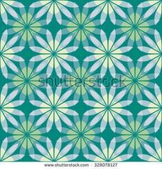 Flower pattern; Hawaiian Style;