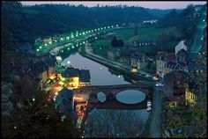 """French Village in the Loire Valley """"Twilight"""", via Flickr."""