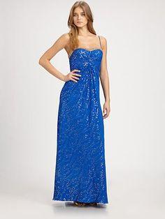 Aidan Mattox  Silk Gown  $485  Saks  Prom