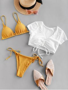 They are beautiful, lovable and affordable. You deserve it! Flattering Swimsuits, Swimsuits For Curves, Swimsuits For Teens, Modest Swimsuits, Plus Size Swimsuits, Push Up Bikini, Bandeau Bikini, Bikini Sets, Bikini Swimsuit