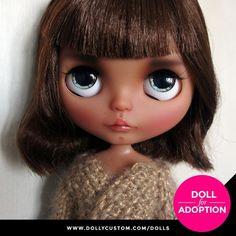 Custom Doll for Adoption by MoyaMolka CHECK HERE https://etsy.me/2GEOjgk . . . #dollycustom #blythe #blythecustom #blythecustomizer #ooakblythe #customblythe #kawaii #doll #artdoll #dollstagram #blythestagram #blythelover #ブライス #blythedoll #customdoll #ooak #ooakdoll