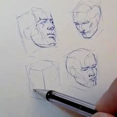 <br> Ferhat Edizkan is a Turkish pencil sketch artist. Ferhat Edizkan is an artist who uses an extraordinary technique in his drawings. Anatomy Sketches, Anatomy Drawing, Anatomy Art, Face Anatomy, Anatomy For Artists, Drawing Heads, Nose Drawing, Painting & Drawing, Drawing Faces