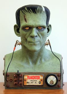 Creepy Collectibles: Universal Monsters Frankenstein Bust