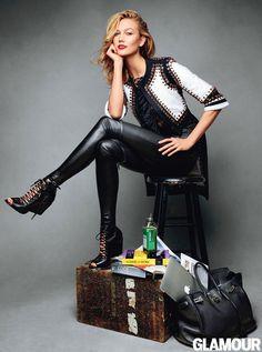 Karlie Kloss Models Spring 2015 Fashion Trends: Glamour.com