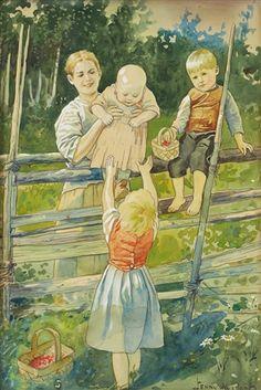 Vid gärdsgården by Jenny Nyström