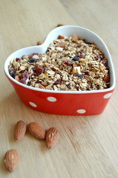 Pure chocolade cranberry granola