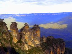The famous three sisters, Blue Mountains, Katoomba, New South Wales