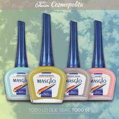 Coleccion Cosmopolitan #SoyMasglo #Masglo #MasgloLOVERS #ColeccionCosmopolitan #NailPolish