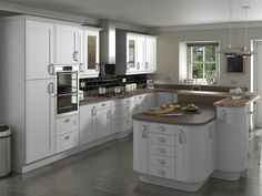 Shelley Light Grey Kitchens - Buy Shelley Light Grey Kitchen Units at Trade Prices