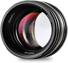 Kamlan APS-C Large Aperture Manual Focus Lens, Standard Prime Lens for Sony E-Mount Mirrorless Camera, Alpha Series and NEX Series Canon Eos, Distancia Focal, Sony E Mount, Prime Lens, F 1, Bmw Logo, Aperture, Olympus, Videography