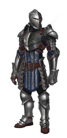 Grey Wardens Plate armor.  A lovely concept art from one of my favorite game franchises.