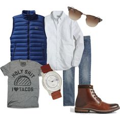 uk availability 27231 20acf A fashion look from February 2015 featuring thin shirt, heather gray t  shirt and tortoiseshell