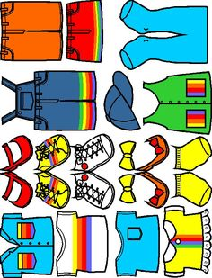 Rainbow Friends printable