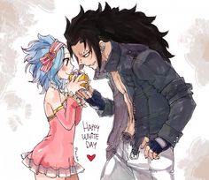 Fairy tail gajeel x levy