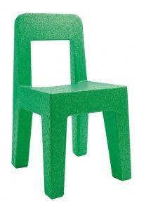 Seggiolina Pop stoel, groen, 4 stuks.