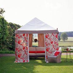 Garten Terrasse Wohnideen Möbel Dekoration Decoration Living Idea Interiors home garden - Gartenpergola