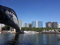 Paris entre en Seine Paris, Sydney Harbour Bridge, Travel, Exotic, Places, Montmartre Paris, Viajes, Paris France, Destinations