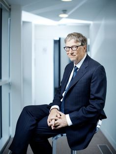 Bill Gates by Lea Crespi #Man Portrait #pickedbyRegis