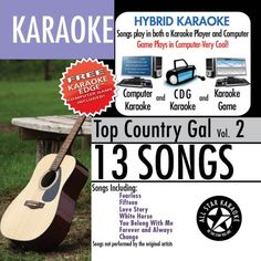 ASK-1561 Karaoke: Top Country Gal with Karaoke Edge, Taylor Swift